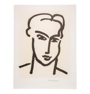 Henri Matisse 'Grande Tête De Katia' Poster