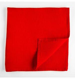 Linen Napkin Red