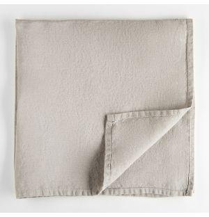Linen Napkin Grey