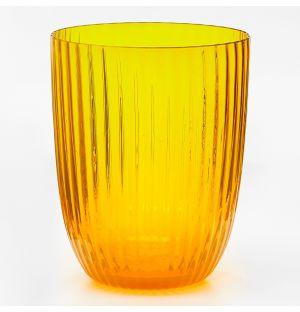 Idra Rigadin Ritorto Water Tumbler Yellow