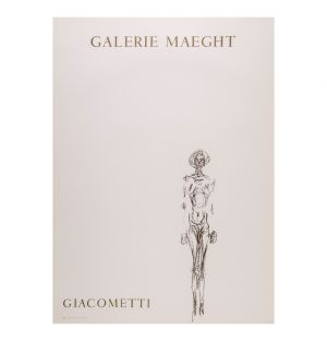 Alberto Giacometti 'Nu De Femme De Face' Poster