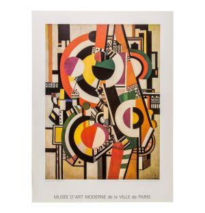 Fernand Léger 'Les Disques' Poster