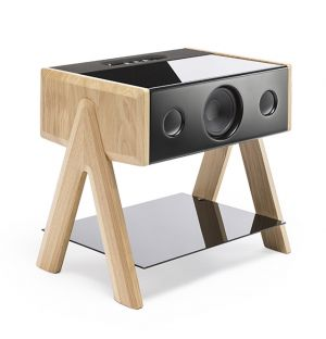 Cube Speaker in Oak