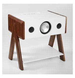 Cube Speaker Corian Series Walnut