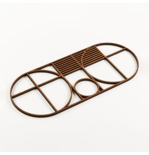 Outline Trivet Oval