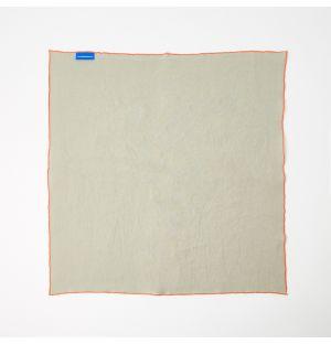 Linen Napkin Overlock Soft Grey