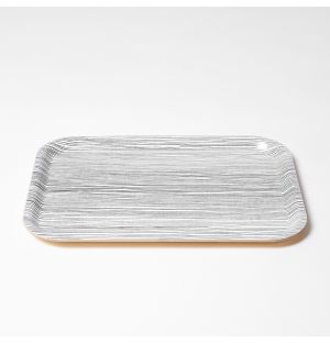 Line Tray Charcoal Small