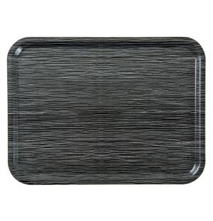 Line Tray Charcoal Large