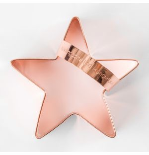 Star Cookie Cutter Copper