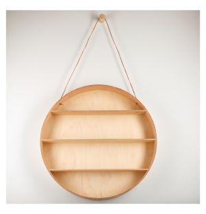 Round Dorm Hanging Shelf