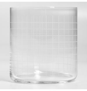 Finesse Grid Whisky Glass