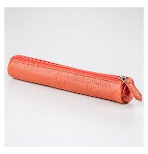 Tube Pencil Case Orange
