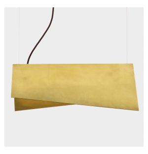 Clark Suspension Pendant Lamp Brass