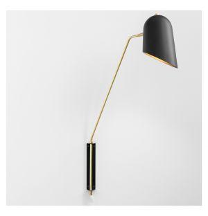 Cliff Wall Lamp Black