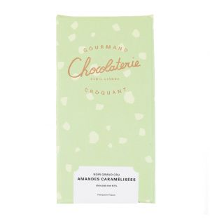 Grand Cru Caramelised Almond & Dark Chocolate Bar