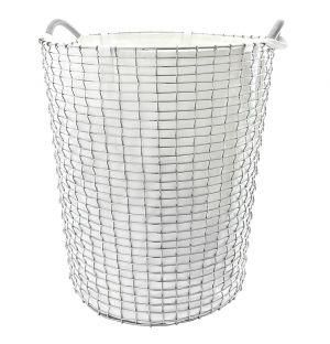 Laundry Bag 80 White 50cm