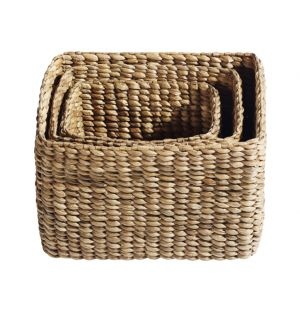 Square Basket Set Of 3