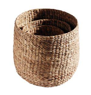 Tall Round Basket Set Of 3