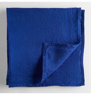 Linen Napkin Workwear Blue