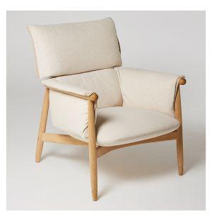 E015 Embrace Lounge Chair Soaped Oak
