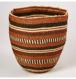 Unique Fine Weave Basket Natural Medium