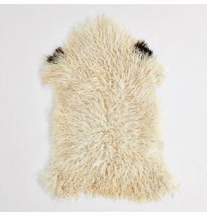 Austrian Sheepskin Rug Ivory