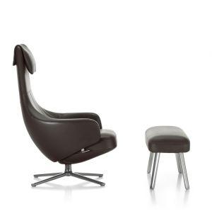 Repos Armchair & Large Panchina Ottoman Leather