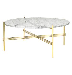 TS Coffee Table Brass Base Large