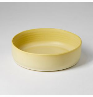 Toulouse Serving Bowl Medium Giallo Inverno