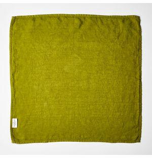 Linen Napkin Leaf Green