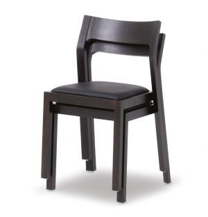 Profile Chair Wenge & Leather