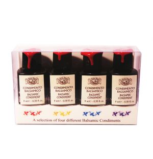 Balsamic Vinegar Tasting Set of 4
