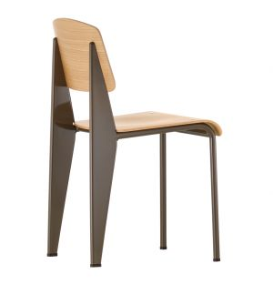 Standard Chair Chocolate & Oak