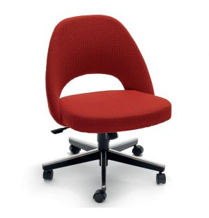 Saarinen Conference Chair Swivel Base & Cato Fabric