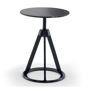 Piton Side Table Black & Nero Marquina Marble