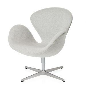 Swan Chair in Divina Melange Fabric