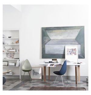 Analog Table White & Oak