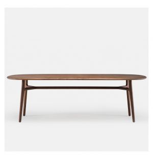 Solo Oblong Table Walnut