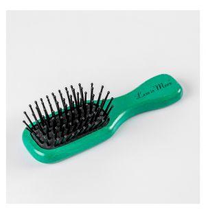 Mini Hairbrush Teal