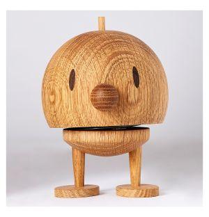 Woody Bumble Figurine Oak