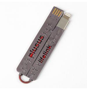 LifeLink Micro USB Cable Grey