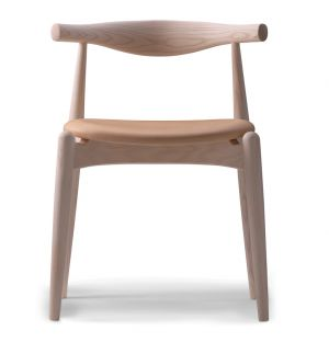 CH20 Elbow Chair Soaped Oak & Thor Leather