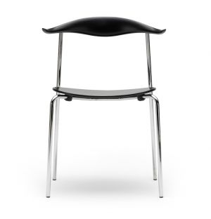 CH88T Chair Chrome & Coloured Beech