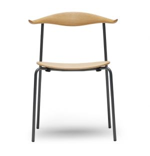 CH88T Chair Powder-Coated Steel & Beech