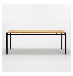 PK52 Professor Desk Oak