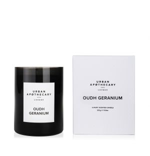 Oudh Geranium Scented Candle