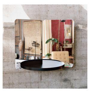 124° Mirror Medium with Tray