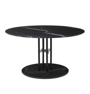 Ts Column Table 130 Black Black Marble Base Marble Top Spec