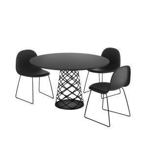Aoyama Dining Table Black