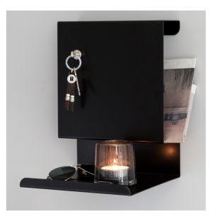 Ledge:Able Wall Shelf Black